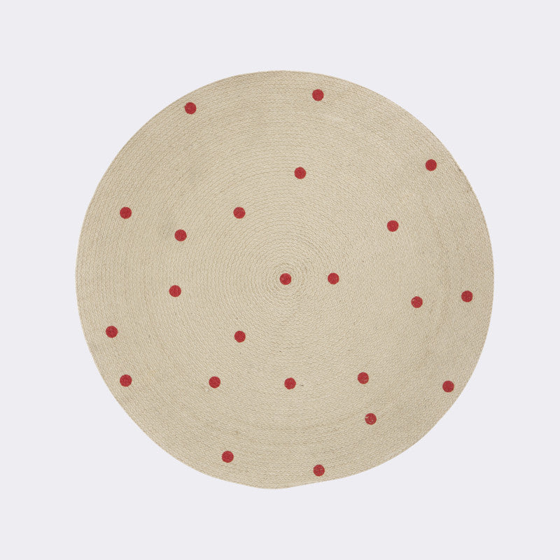 Round Carpet - Dots