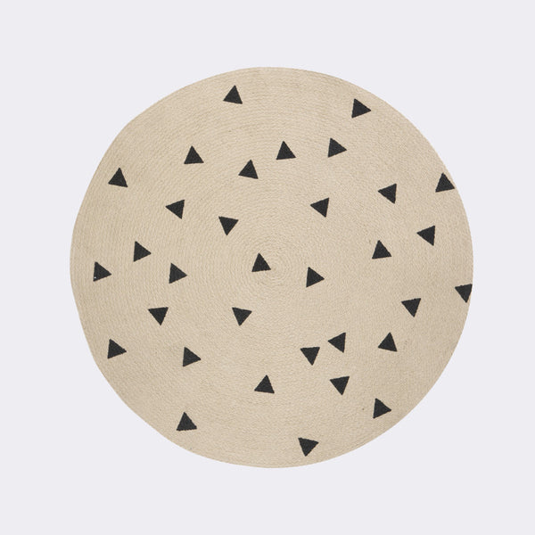 Round Carpet - Triangles