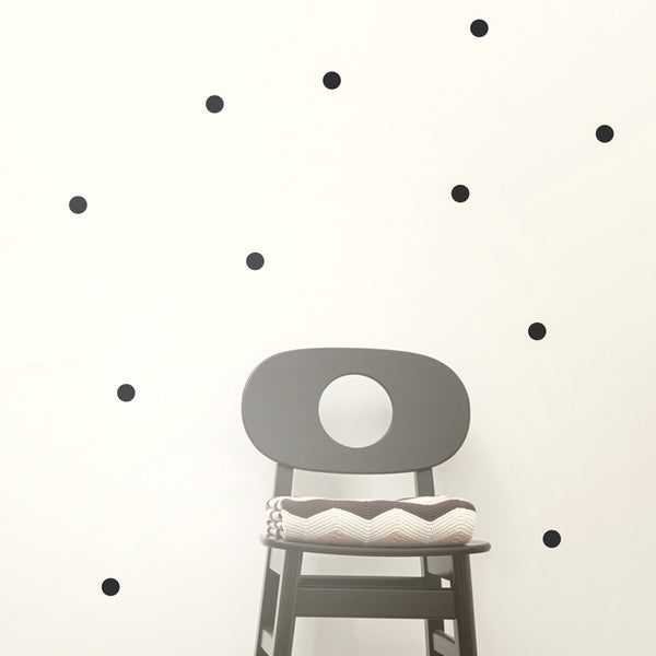 Wallsticker - Dots - Black