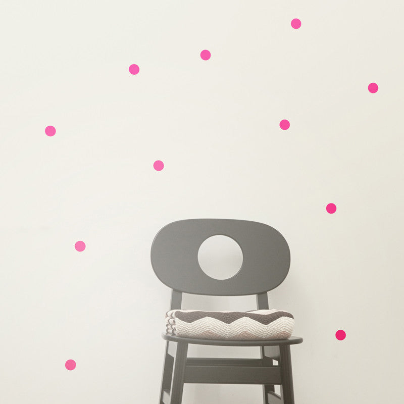 Wallsticker - Dots - Neon