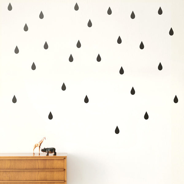 Wallsticker - Mini Drops - Black