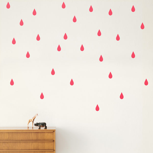 Wallsticker - Mini Drops - Neon