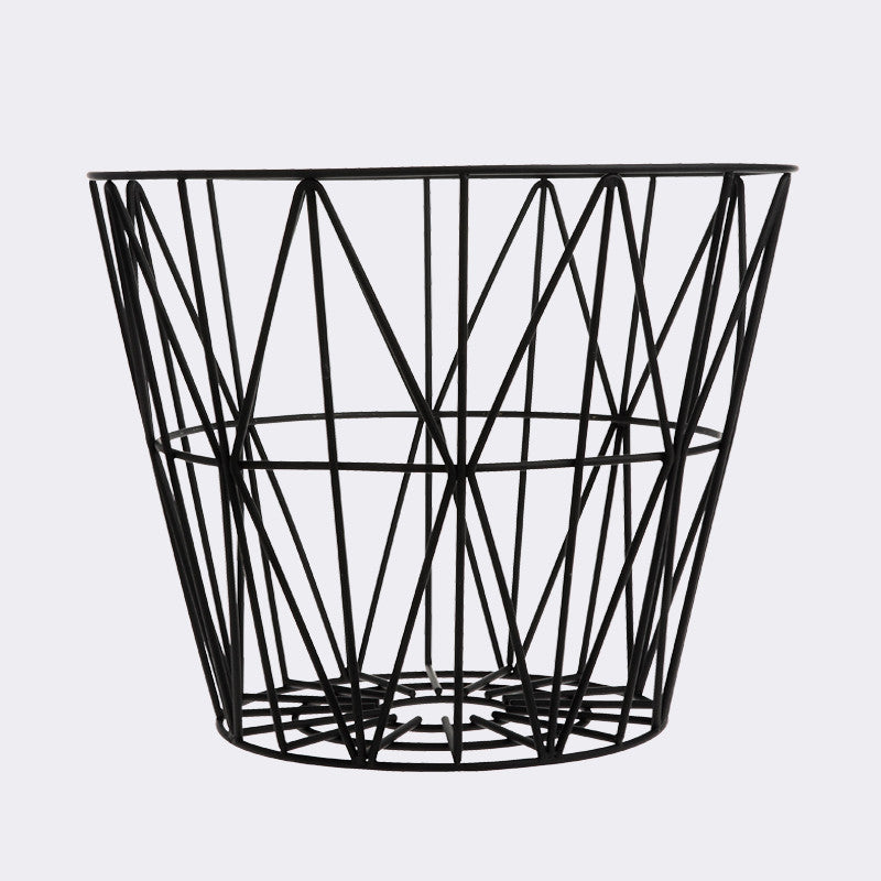 Wire Basket - Large - Black