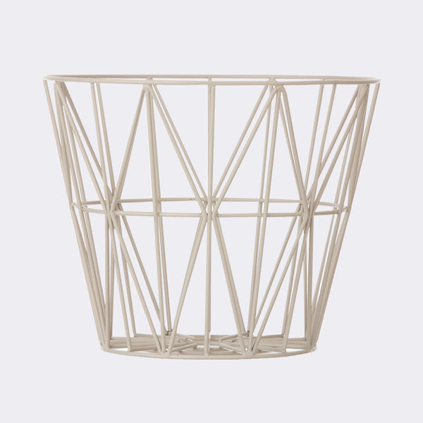 Wire Basket - Large - Grey