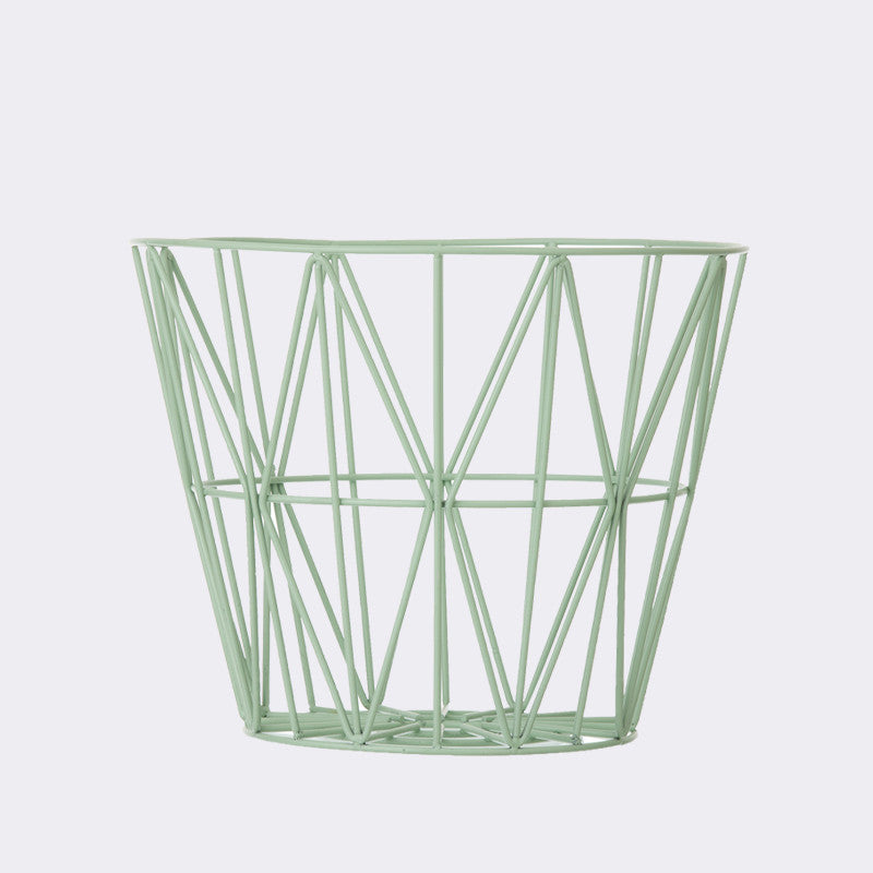 Wire Basket - Medium - Mint