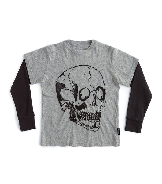 Embroidered MD Skull T-shirt