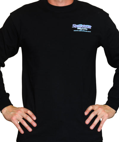 Men's Black Speedboat Longsleeve