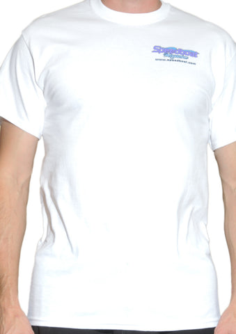 Men's White Speedboat T-Shirt