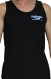 Men's Black Speedboat Tanktop