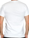 Men's White Speedboat T-Shirt - Blue Badge Logo