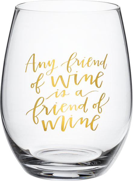 Wine Glass - Friends