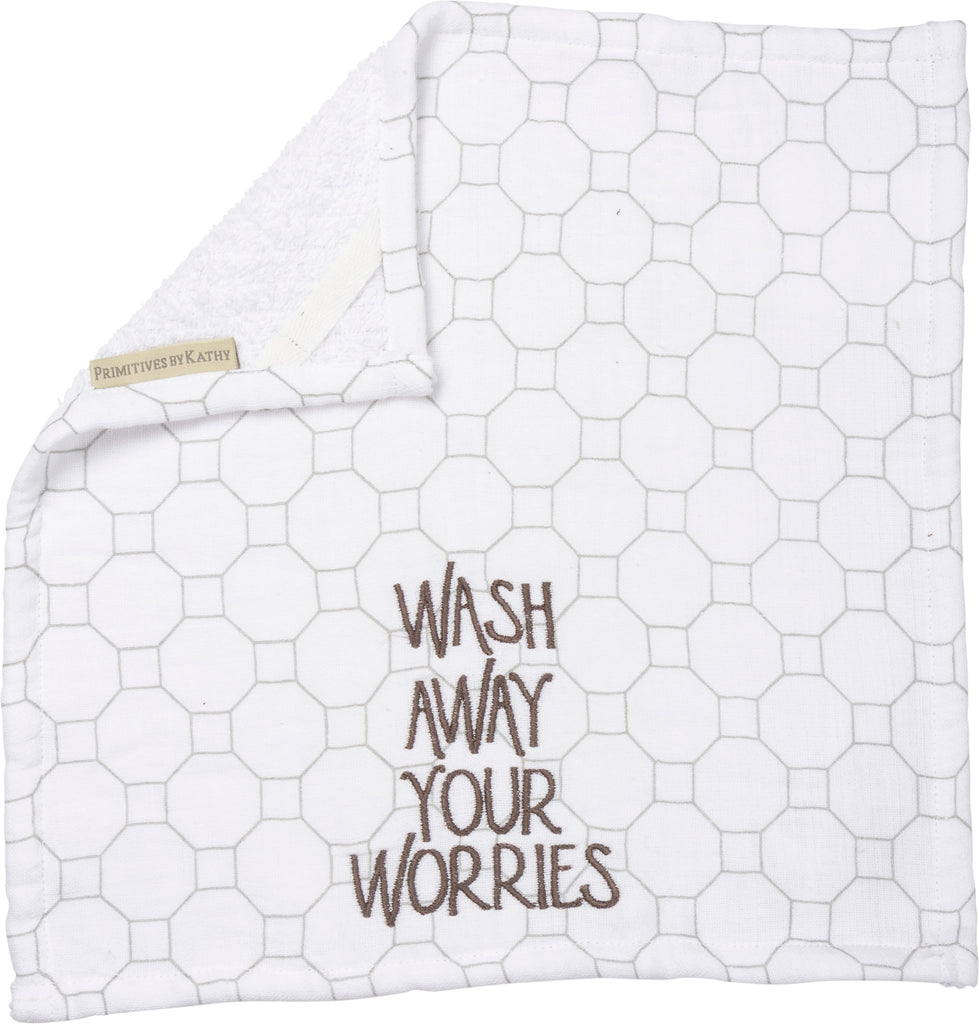 Bathroom - Wash Worries Washcloth