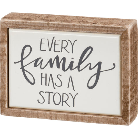 Box Sign Mini - Family