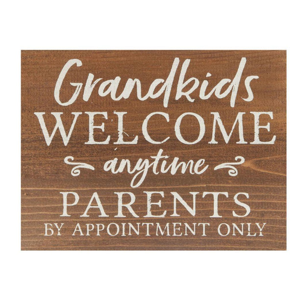Grandkids Wood Sign