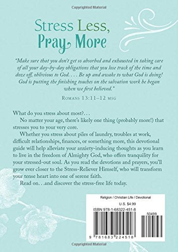 Book - Stress Less Pray More