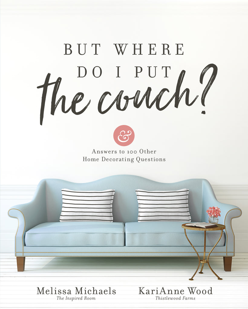 Book - But where do I put the couch?