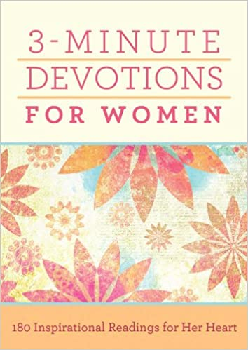 Book - 3 Minute Devotions for Women