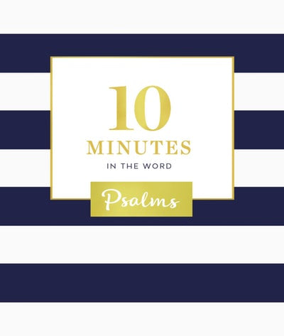Book - 10 Minutes in the Word of Psalms