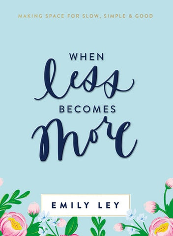 Book - When Less Becomes More