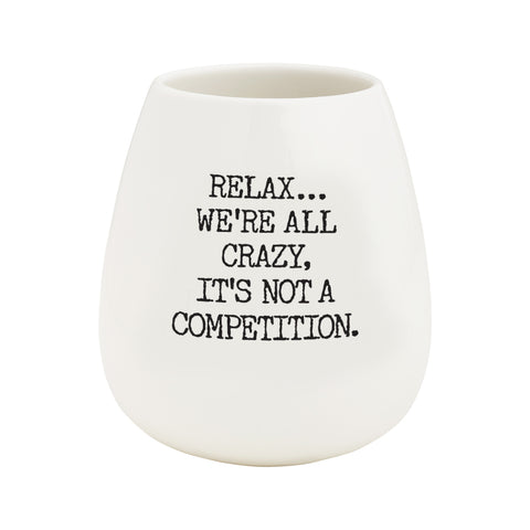 Wine Glass - Relax Crazy