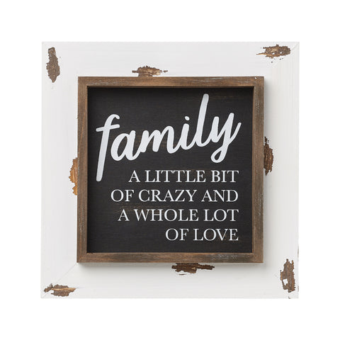 Family Framed Sign