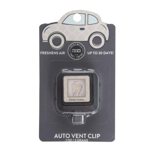 Scented Auto Vent Clip - 2 Scent Options