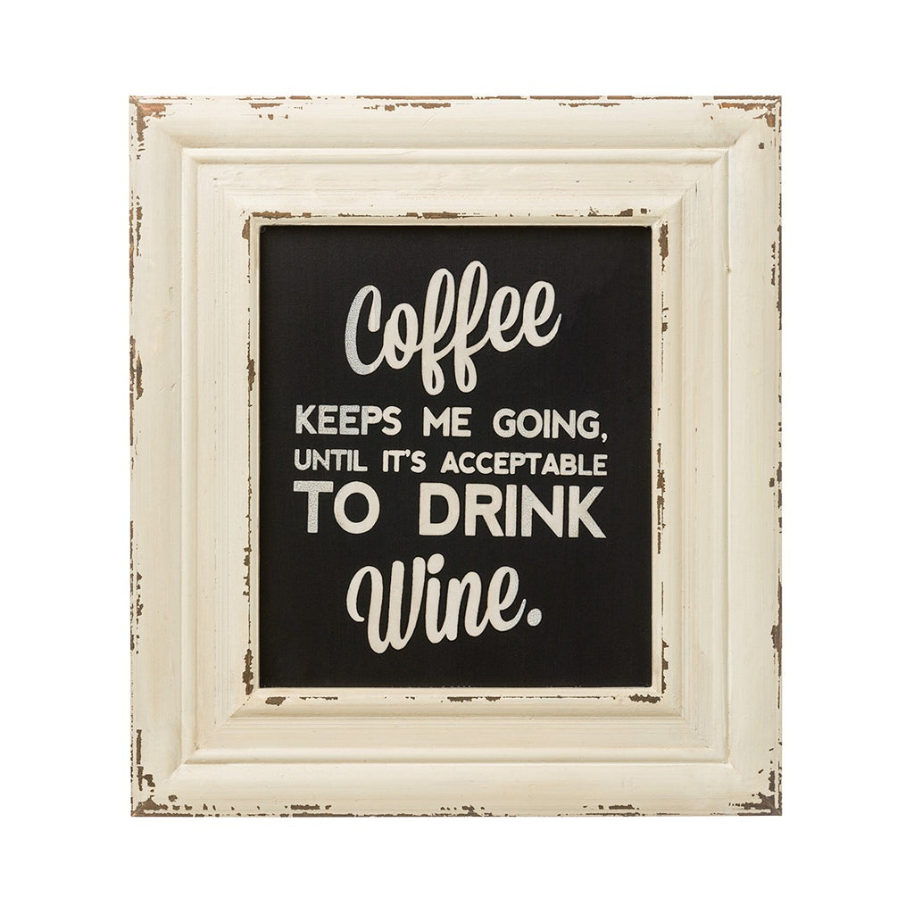 Coffee and Wine Sign - Wall Decor