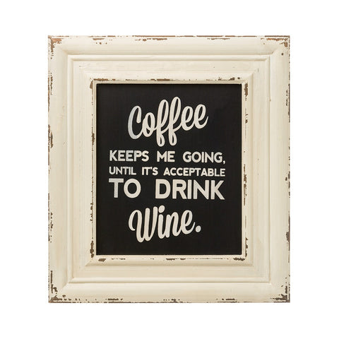 Coffee and Wine Sign