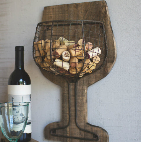 Wine Cork Holder Decor