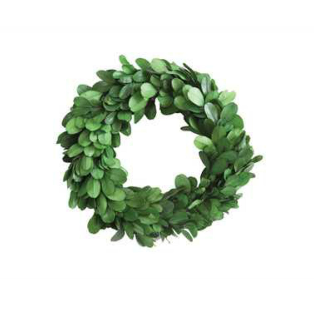 Living Room Décor - Boxwood Wreath Mini | Plant & Floral