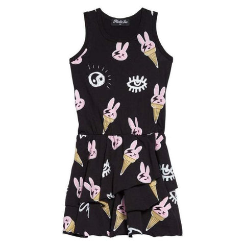 Ice Cream Bunny Layers Dress