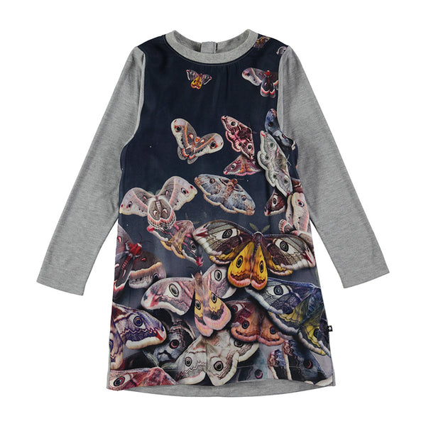 Midnight Moth Dress