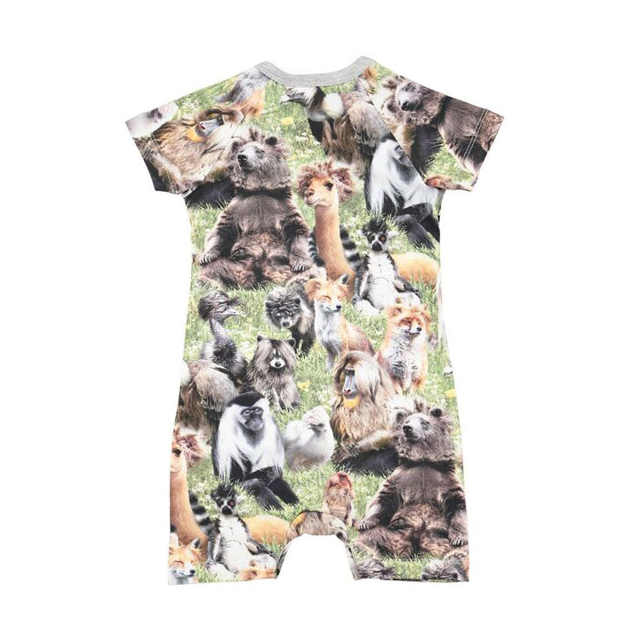 Hairy Animals Felton Romper