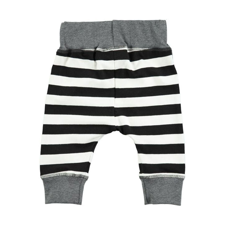 Black Stripe Soft Pants