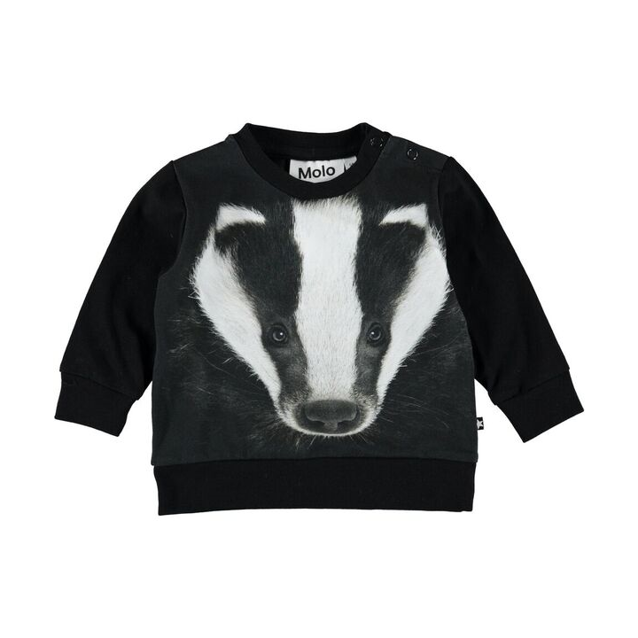 Badger Face Eiler T-Shirt