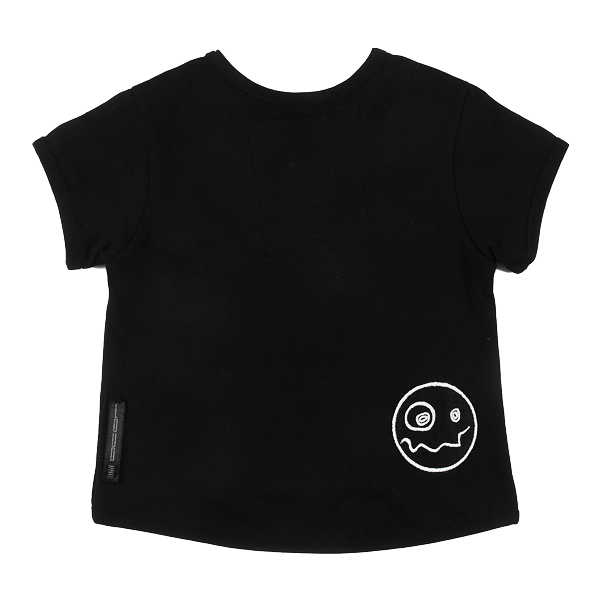 Peek T-Shirt in Black