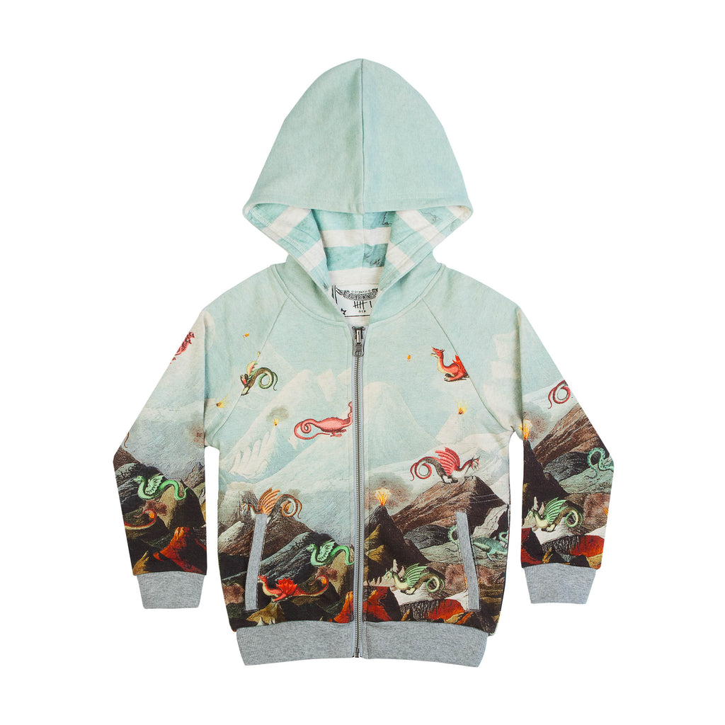Monster Mountain Reversible Hoodie