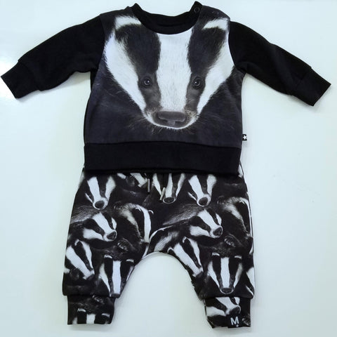 Badger Face Outfit