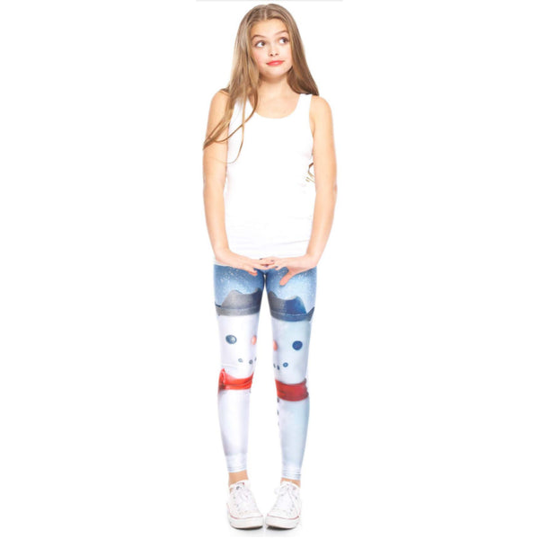 Build A Snowman Leggings