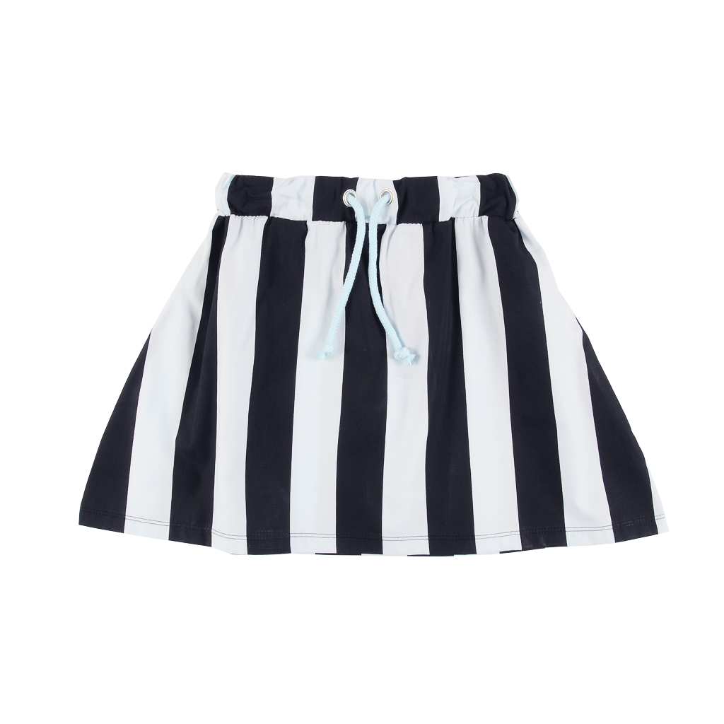 Smooth Striped Skirt