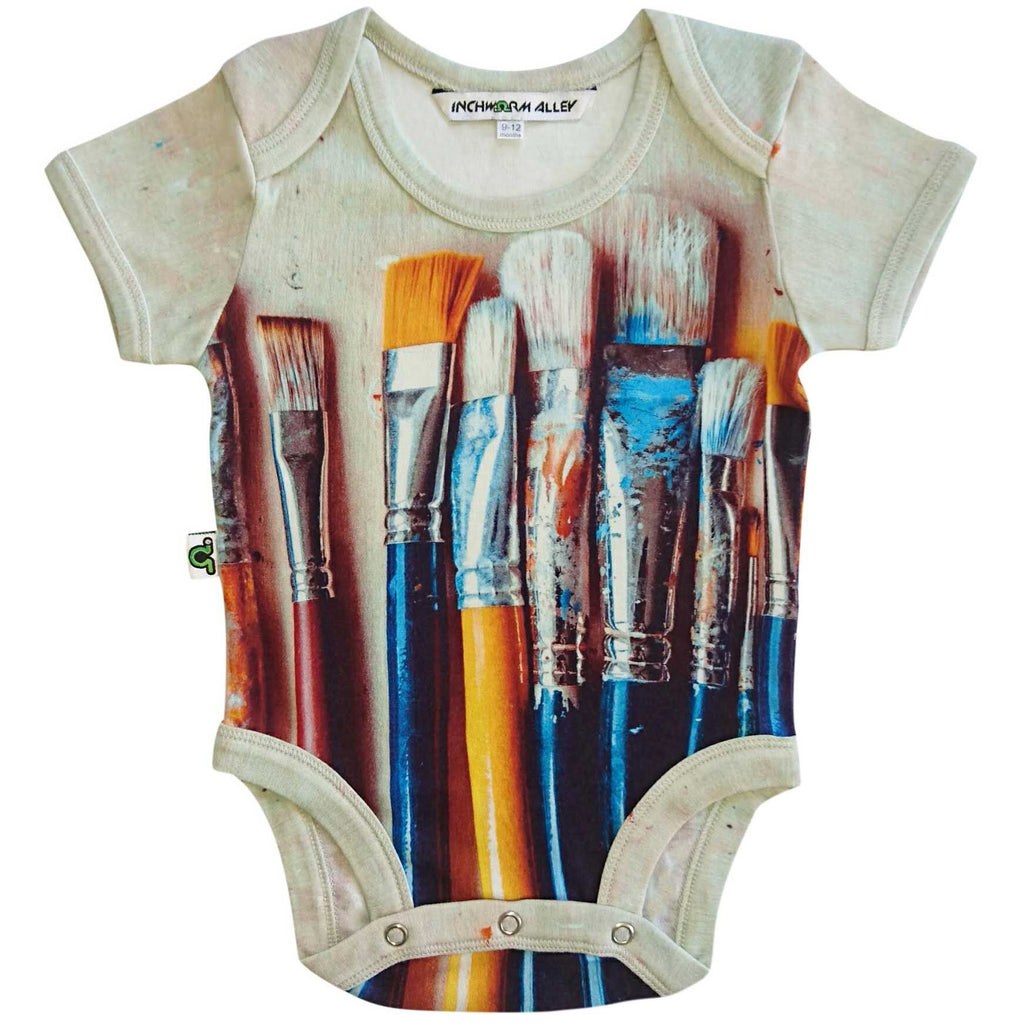 Paintbrushes Onesie