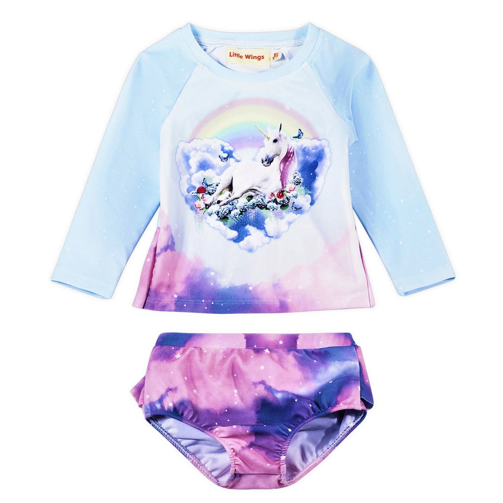 Cloud Unicorn Rash Guard Set