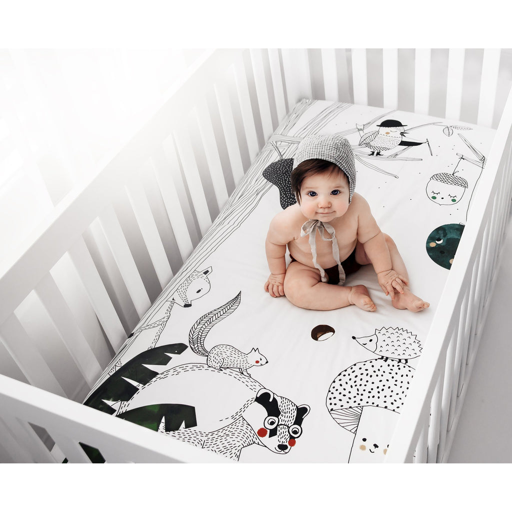 Woodland Dreams Crib Sheet
