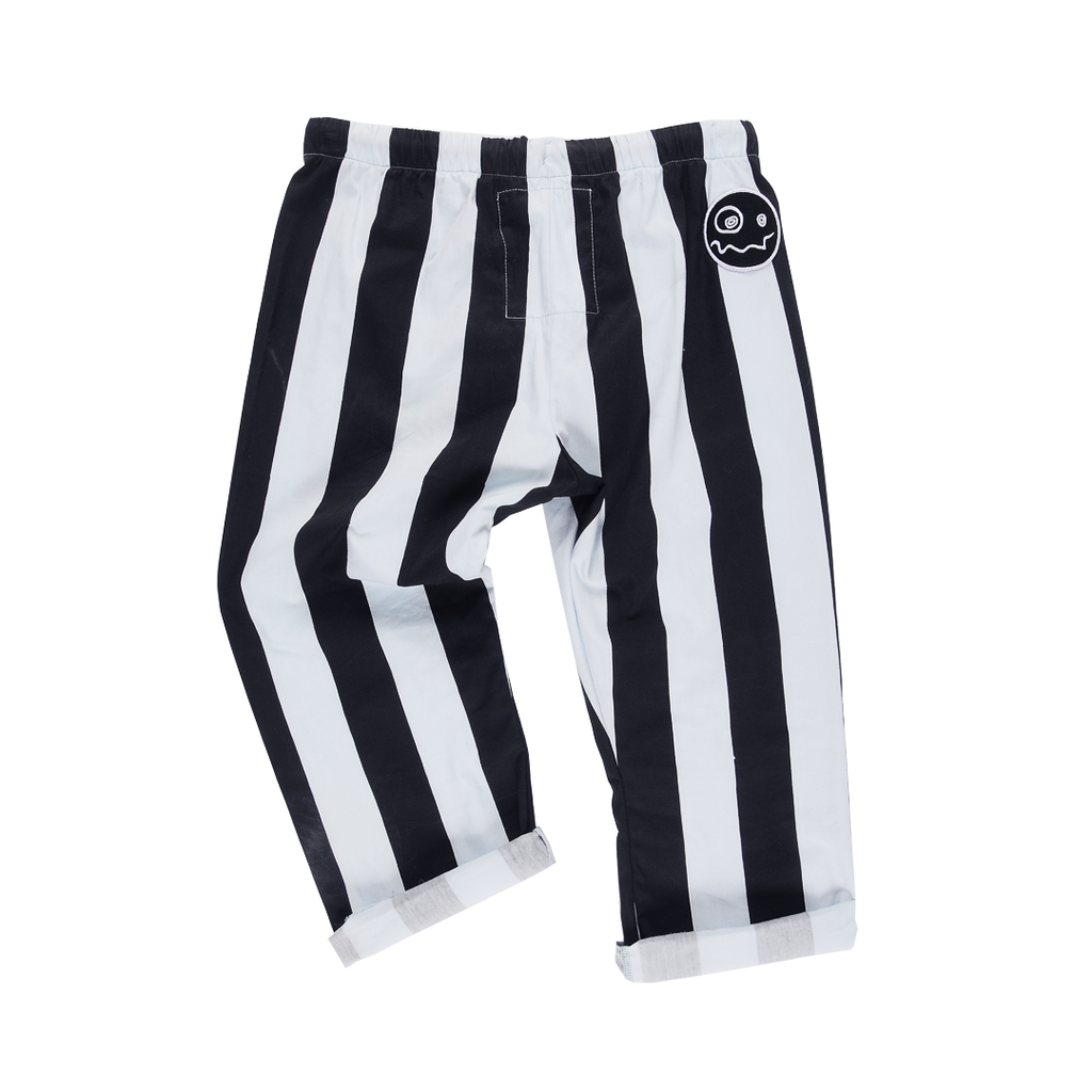Ash Striped Trousers