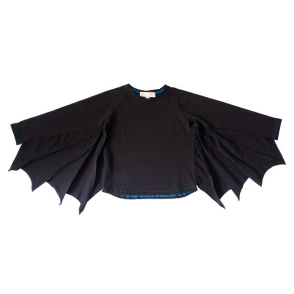 Bat Tee in Black