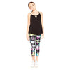 Multi Camo Capri Leggings