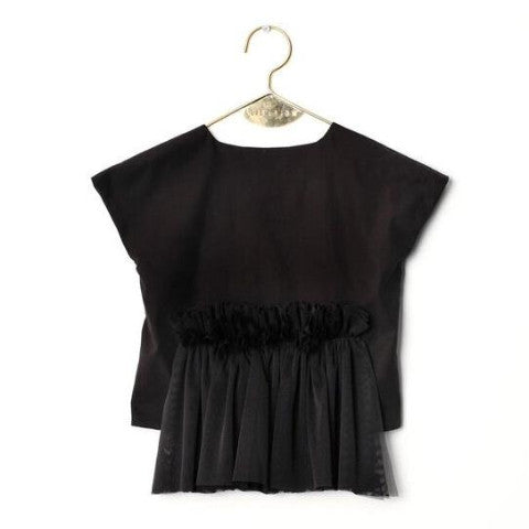 Candida Black Blouse