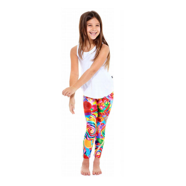 Dylan's Candy Collage Leggings