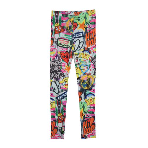 Emoji Graffiti Leggings