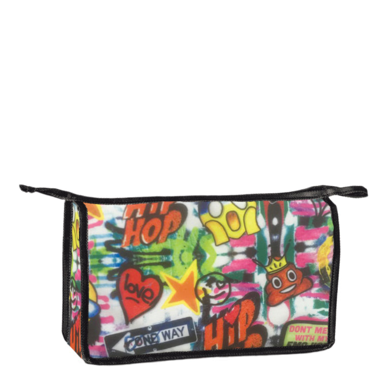 Emoji Graffiti Travel Bag